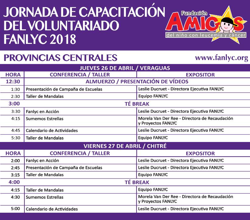 Jornada de Capacitación _Provincias_Centrales